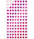 EK Success Sparkler Classic Stickers-Valentine Dots
