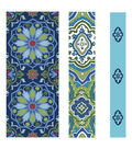 Buttercream™ Stella Collection Fabric Tape-Moroccan Blue