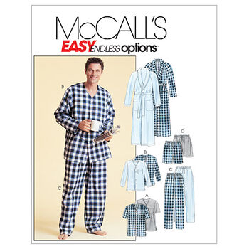 McCall's Mens Sleep & Lounge-M4244