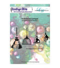 Indigoblu Industrial Lamps Cling Mounted Stamp
