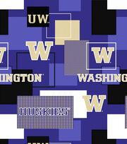"University of Washington Huskies Cotton Fabric 43""-Modern Block, , hi-res"