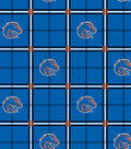 Boise State University Broncos Flannel Fabric 42\u0022-Plaid