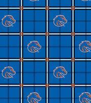 "Boise State University Broncos Flannel Fabric 42""-Plaid, , hi-res"