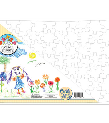 """Create Your Own Puzzle 21""""X15"""" 70 Piece Jigsaw Puzzle"""