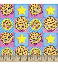 Shopkins Flannel Fabric 42\u0022-Kooky Cookie