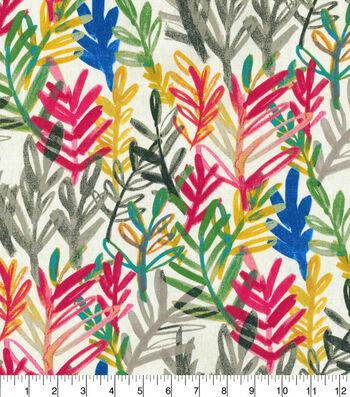 Waverly® Spotlight Upholstery Fabric 54''-Zinnia Vibrant Canvas