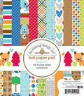 Doodlebug Double-Sided Paper Pad 6\u0022X6\u0022-Puppy Love