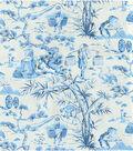 Home Decor 8\u0022x8\u0022 Swatch Fabric-Waverly Haiku Toile Indigo