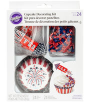 Wilton® 4th of July Cupcake Decorating Kit-Rocket, , hi-res