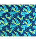 Doodles Juvenile Apparel Fabric-Tossed Trucks Interlock