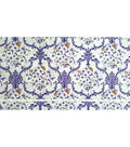 Two Daughters Cotton Fabric 43\u0022-Gray Floral Damask