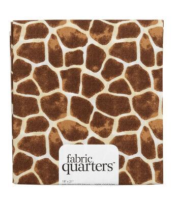 Fabric-Quarters Assorted Fabric-Animal Skins