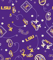 "Louisiana State University Tigers Cotton Fabric 44""-Bandana, , hi-res"