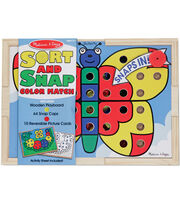Melissa & Doug Sort And Snap Color Match, , hi-res