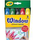Crayola Window Crayons-5PK