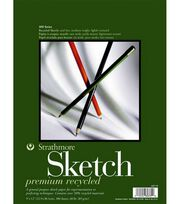 "Strathmore Recycled Sketchbook 9""x12""-100 Sheets, , hi-res"