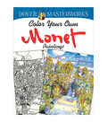 Dover Masterworks Color Your Own Monet Paintings Coloring Book