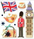 K&Company Dimensional Embellishments-Sights of London