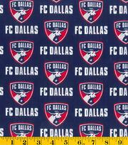 "FC Dallas Cotton Fabric 58""-Logo, , hi-res"