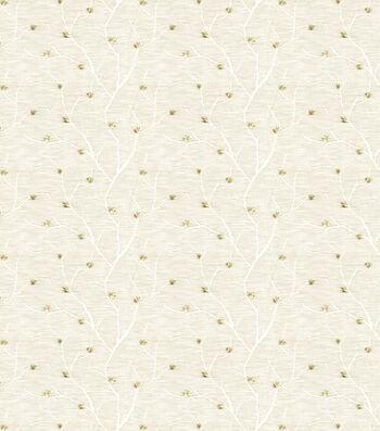 Eaton Square Sheer Fabric-Remedy/Ivory