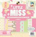 DCWV 12\u0022x12\u0022 Little Miss Stack