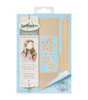 Spellbinders® Shapeabilities® Etched Die-Lattice Floral Basket, , hi-res