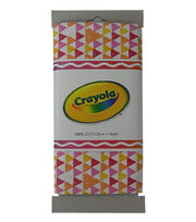 Crayola® Fabric 1yd Cut-Triangle Pink, , hi-res