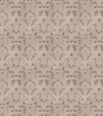 "Eaton Square Print Fabric 55""-Crew/Nickel"