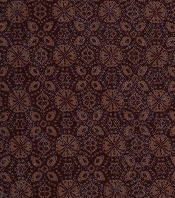 "Keepsake Calico™ Cotton Fabric 43""-Woodsmoke Medallion Blender"