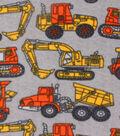 Anti-Pill Fleece Fabric 59\u0022-Construction On Concrete