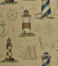 Home Decor 8\u0022x8\u0022 Fabric Swatch-Regals Hatteras Cream