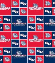 """Gonzaga University Bulldogs Cotton Fabric 43""""-Logo Block, , hi-res"""