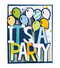 Sizzix™ Framelits™ 6 Pack Dies-It\u0027s A Party Drop-Ins Card