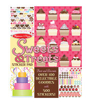 Melissa & Doug Sweets & Treats Sticker Pad, , hi-res