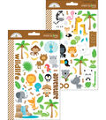 At The Zoo Stickers-Mini Icons