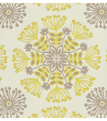 "Waverly Upholstery Fabric 54""-Kaleidoscope Sterling"