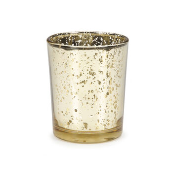 David Tutera™ Bridal Collection Glass Votives w/Gold Spot Plating