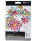 Prima Princesses Cling Stamp 5\u0022X7\u0022-Katherine