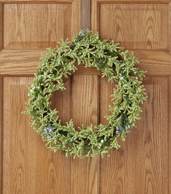 Spring Floral Berry Wreath 20''