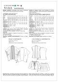 Mccall Pattern V1243 All Sizes -Vogue Pattern