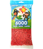 Perler Beads 6,000 Count-Red, , hi-res