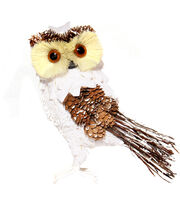 Blooming Holiday Small Owl With Snow-White, , hi-res