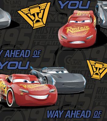 Disney® Cars 3 Fleece Fabric 59''-Friends From The Start