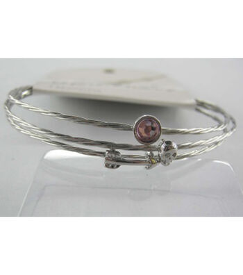 Bangle Expressions Silver Bracelet Assortment 281