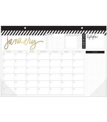 Heidi Swapp® Fresh Start 12 Month Desktop Calendar
