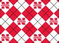 University of Nebraska Cornhuskers Fleece Fabric 60\u0022-Argyle