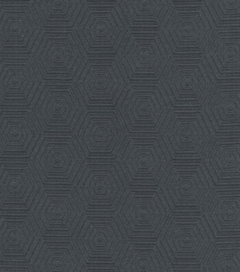 "HGTV Home Upholstery Fabric 57""-Hex Appeal Zinc"
