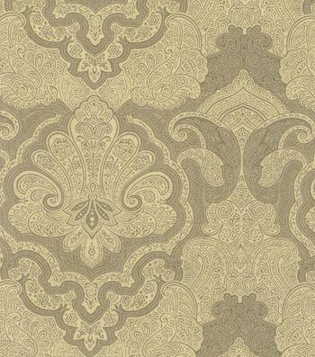 "Buttercream™ Cosette Cotton Fabric 43""-Large Damask Green"