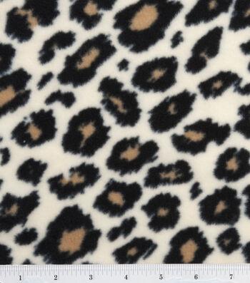 "3 Yard Pre-Cut Anti-Pill Fleece Fabric 59""-Cheetah"