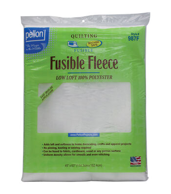 Pellon White Fusible Fleece